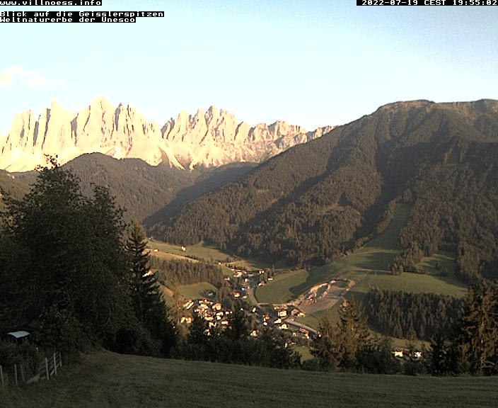 webcam val di funes odler